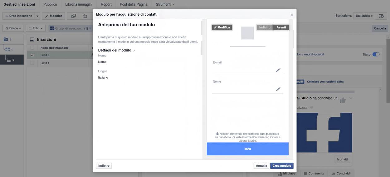 facebook marketing lead ads