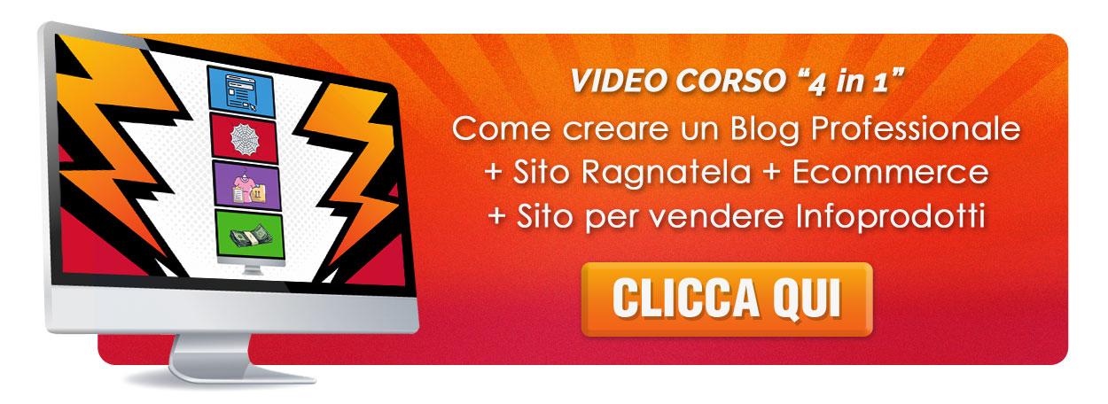 creare sito blog ecommerce vendere infoprodotti