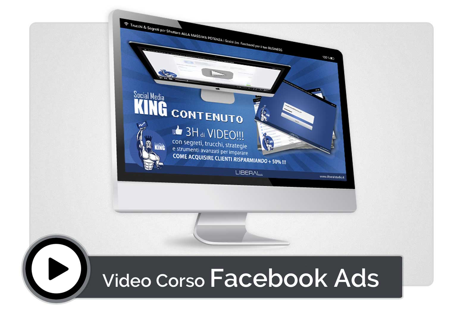 liberal studio infoprodotto video corso facebook ads