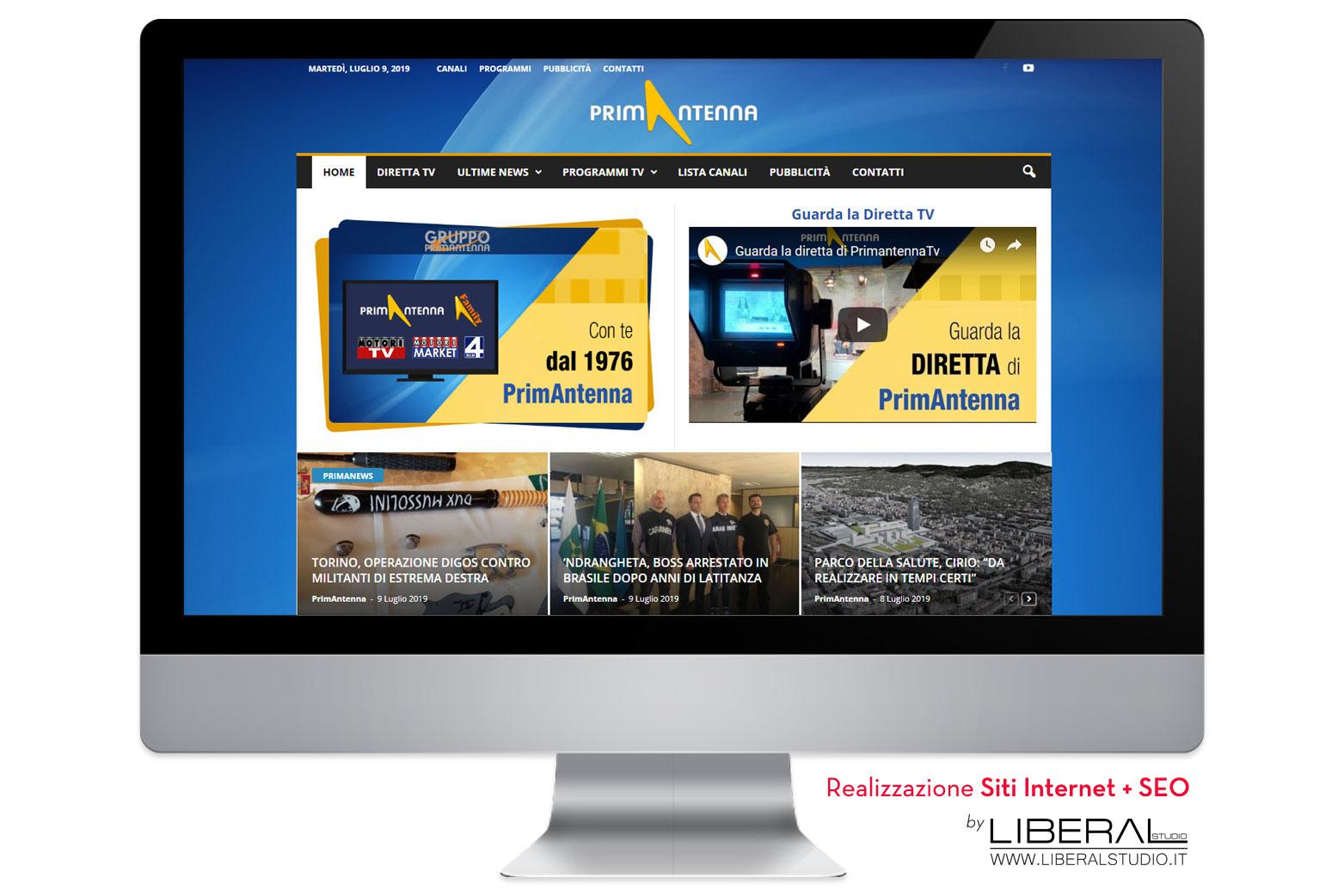 realizzazione siti web internet tv locale